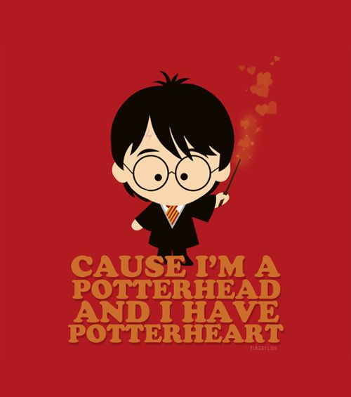 'cause I'm a Potterhead and I have Potterheart