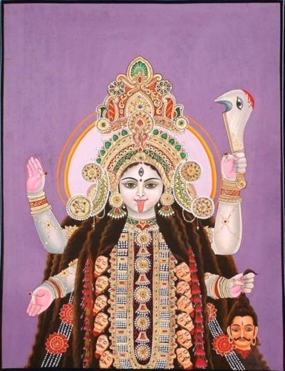 A modern take on Goddess Kali, The Dark Mother