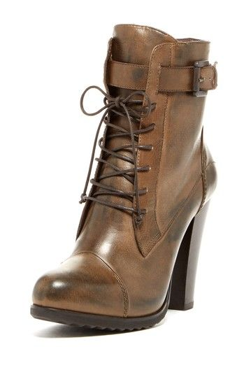 Janet & Janet Lace-Up High Heel Bootie by VANELi on @HauteLook