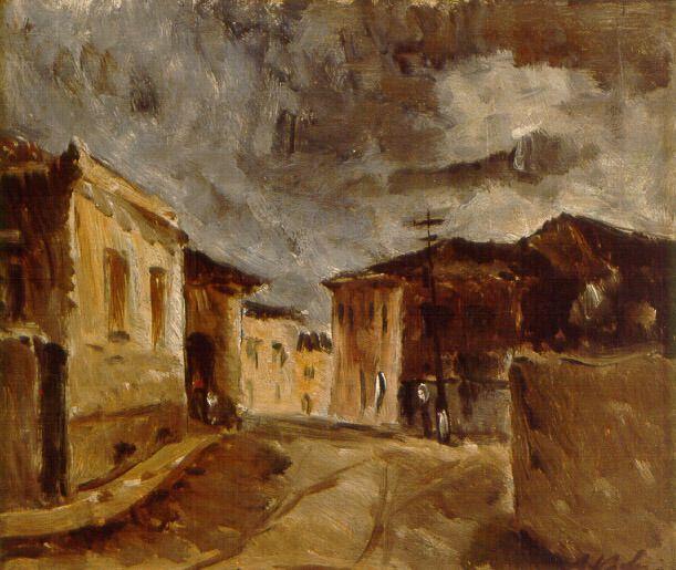 Mogi das Cruzes, 1932 Alfredo Volpi (Itália/Brasil, 1896-1988) óleo sobre tela Museu de Arte Moderna