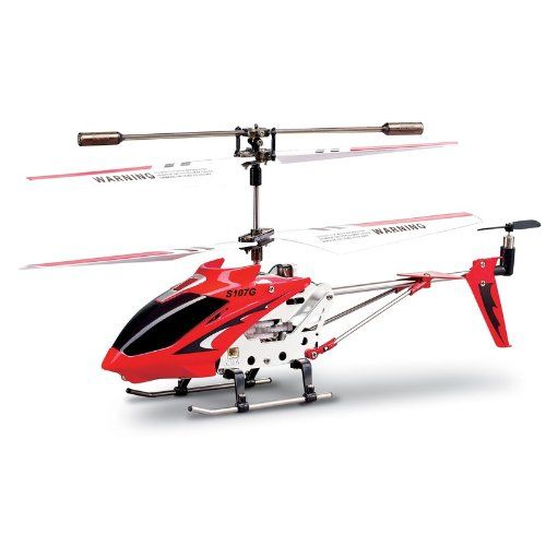 Syma S107G 2nd Edition Hélicoptère d'intérieur Rouge | Your #1 Source for Toys and Games