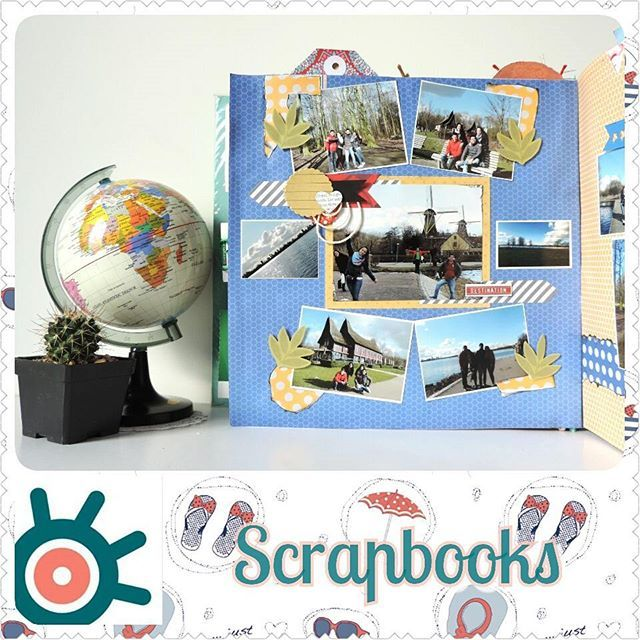Libro de fotos Piuri:  Scrapbooks o libro de recortes es la técnica de personalizar álbumes de fotografías !!! #scrapbook #scrapbooking #scrap #album #journal #photography #fotos #recuerdos #craft #manualidades #handmade #hechoamano #travel #viajes #europa #layout #craftlovers #scrapbooktravel #librodefotos