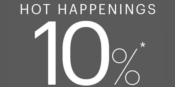 Isetan Singapore Cardmembers' Exclusive 10% Off Promotion 2 to 4 Sep 2016