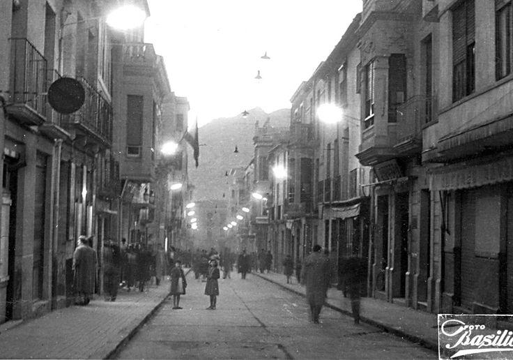 Elda - calle nueva 1957