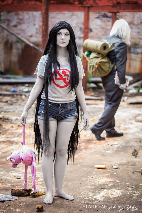 Marceline & the Ice King Cosplay