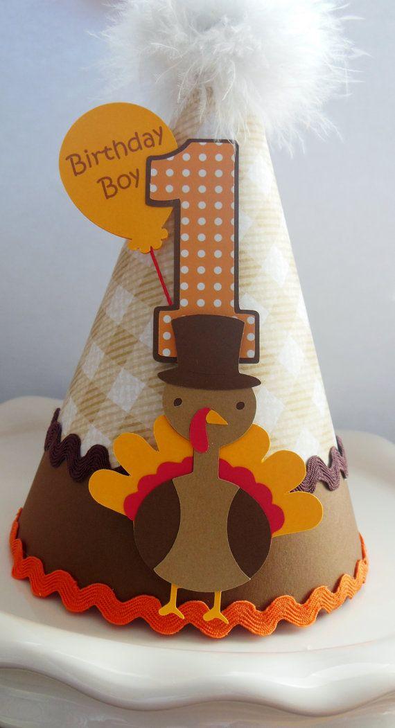 Lil' Turkey Day  Thanksgiving Birthday by SandysSpecialtyShop