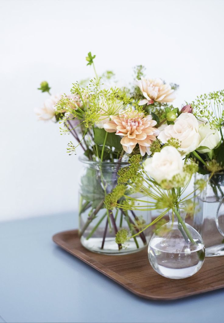 Flowers / Plant decor / Home inspiration and styling ideas