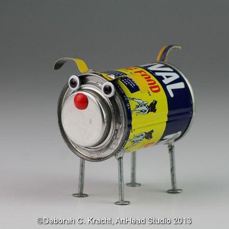 JunkYard Dog  Rival Dog Food by ArtHeadStudio on Etsy, $79.00