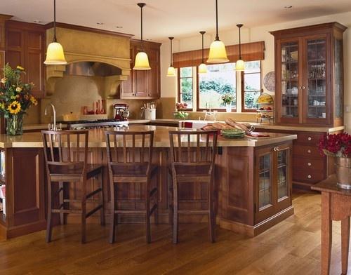 Kitchen in 1930's Mediterranean style home - mediterranean - kitchen - san francisco - Alexandra Luhrs Interior Design