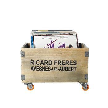Förvaringsbox RICHARD FRERES, trä
