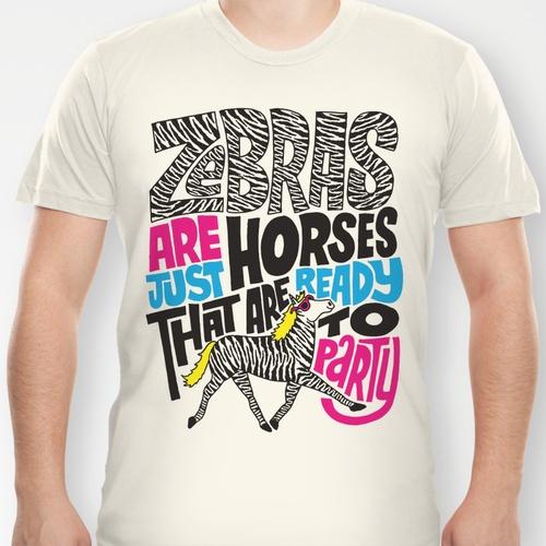 Party Horses T-shirt