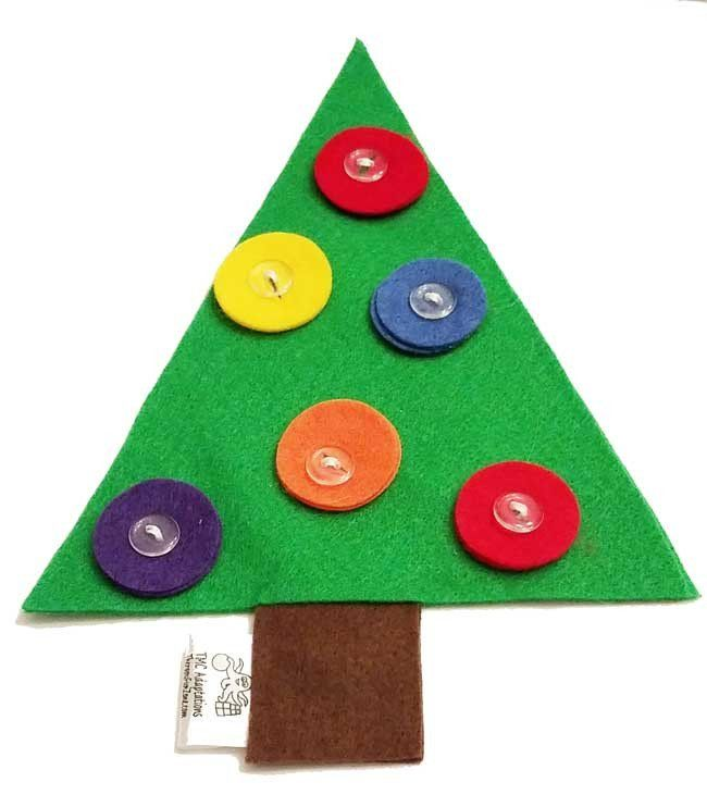 Button Christmas Trees: 8 Best Fasteners (buttons, Tying, Etc.) Images On