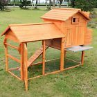"""83x31x53"""" Chicken Wood Coop yard Hen House Rabbit Hutch Poultry Large Nest Cage - http://pets.goshoppins.com/backyard-poultry-supplies/83x31x53-chicken-wood-coop-yard-hen-house-rabbit-hutch-poultry-large-nest-cage/"""