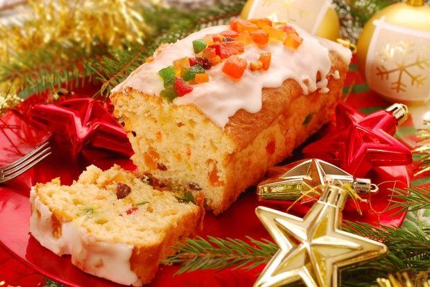 Ромовый кекс с сухофруктами к Рождеству