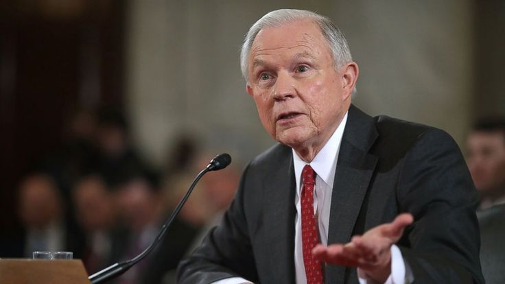 """Two Democratic senators revealed that they asked then–FBI Director James Comey to investigate Attorney General Jeff Sessions for perjury stemming from his confirmation hearing testimony.  Patrick Leahy, D-Vt., and Al Franken, D-Minn., issued a joint statement today alleging that Sessions """"provided"""