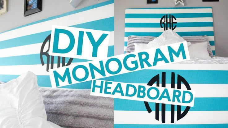 Birthday Gifts for Teenagers    We created this adorable DIY Monogram Headboard that is totally customizable and you won't believe how simple it actually was. I love how easy it truly is to cut your own monograms with the Cricut Explore Air.