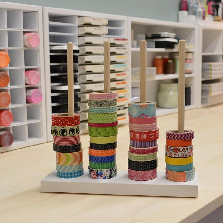 Washi Tape Stand - could easily make this