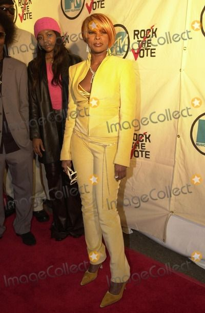 Mary J. Blige at Rock The Vote's 2001 Patrick Lippert Awards, House Of Blues, West Hollywood, 02-20-01