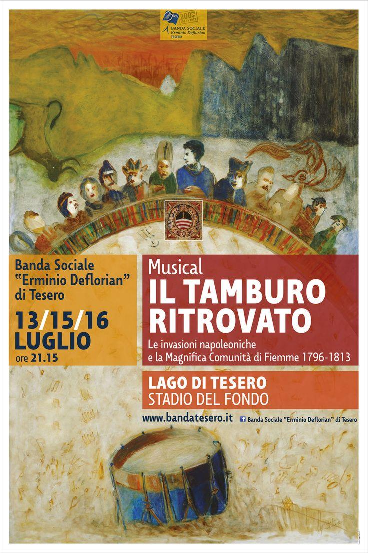 """Musical """"Il Tamburo ritrovato"""" Banner 2x3 m"""