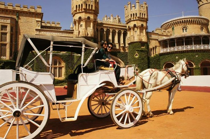 Ride in a Chariot around Bangalore Palace