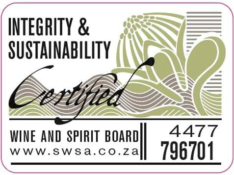We are a South African Sustainable Wine