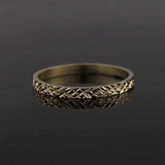 Wedding Ring Wedding Band Yellow Gold Wedding Ring Etsy Yellow Gold Wedding Ring Wedding Ring Bands Etsy Wedding Rings