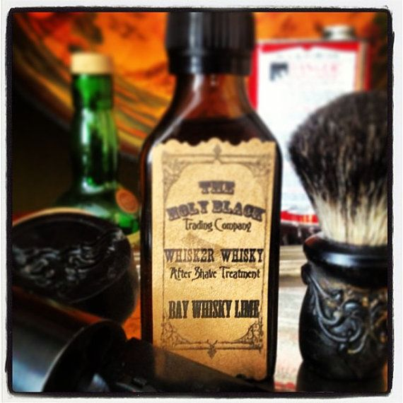 Whisker Whisky Aftershave 100ml sandalwood or gunpowder
