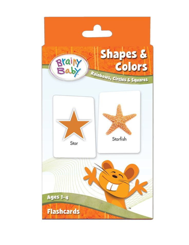 SHAPES-&-COLORS-FLASHCARDS-SET-Rainbows- Circles-and-Squares-for-Preschool-Children-by-Brainy-Baby®