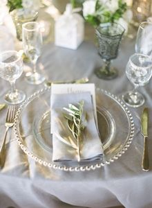 Olive and grey wedding reception palette, olive branch wedding | Classy Wedding in Athens, Sounio, Greece