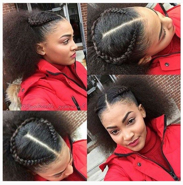 101 Natural Hair Updos For Long Hair Short African American