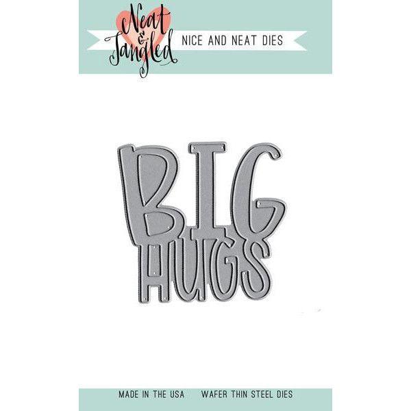 Neat & Tangled Big Hugs - Nice and Neat Dies