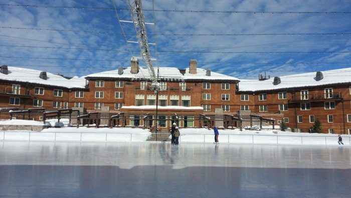This World Class Outdoor Skating Rink In Idaho Is Perfect For Making Winter Memories #idaho #iceskating