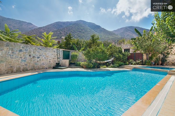 Two storey traditional house with sea and mountain view, Geropotamos   Cretico