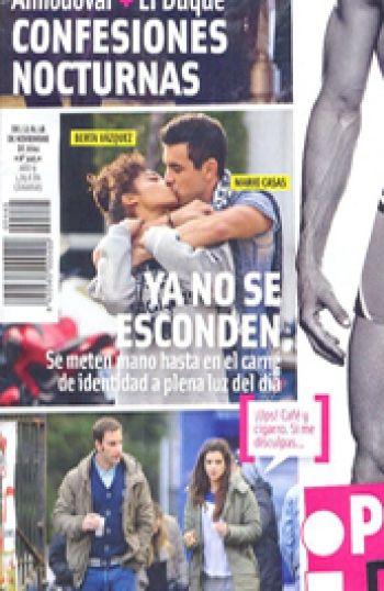 Mario Casas y Berta Vázquez ya no esconden su amor. | CORAZON VIP 2
