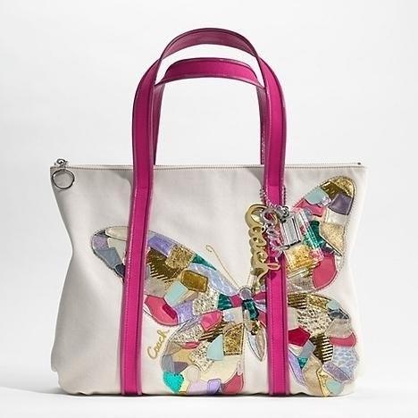 Tote Bag - Butterfly on Green by VIDA VIDA nLGCA0bB