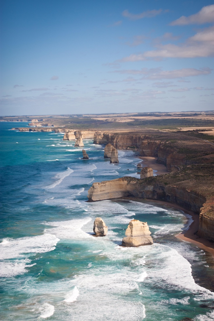 ✯ Twelve Apostles from a Helicopter - Australia