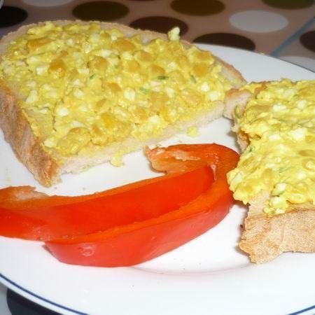 Kukoricás tojáskrém