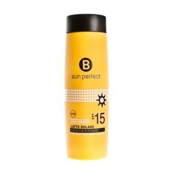 LATTE SOLARE PROTETTIVO SPF 15. Fresco e leggero, indicato per pelli scure o già abbronzate, permette un'esposizione al sole in totale sicurezza. #limoni #summerbag