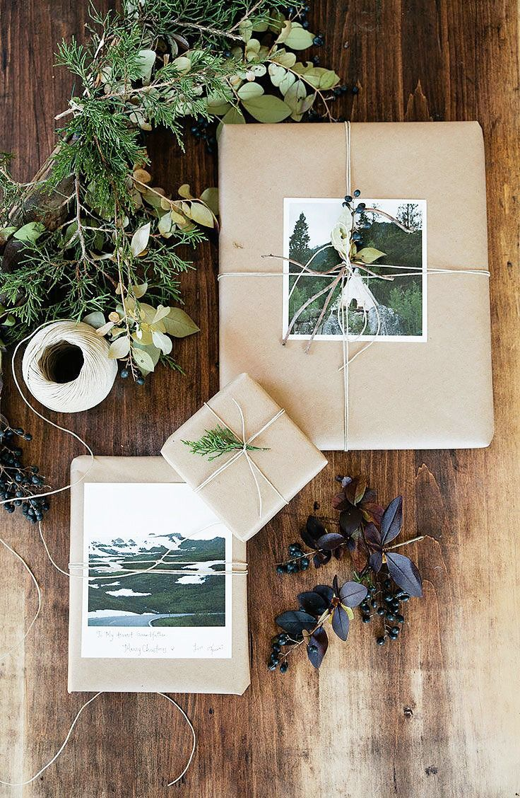 8 Gorgeous Last-Minute Gift Wrapping Ideas via @MyDomaine: