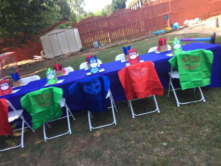 13 best PJ Masks Birthday Party images on Pinterest | Face ...