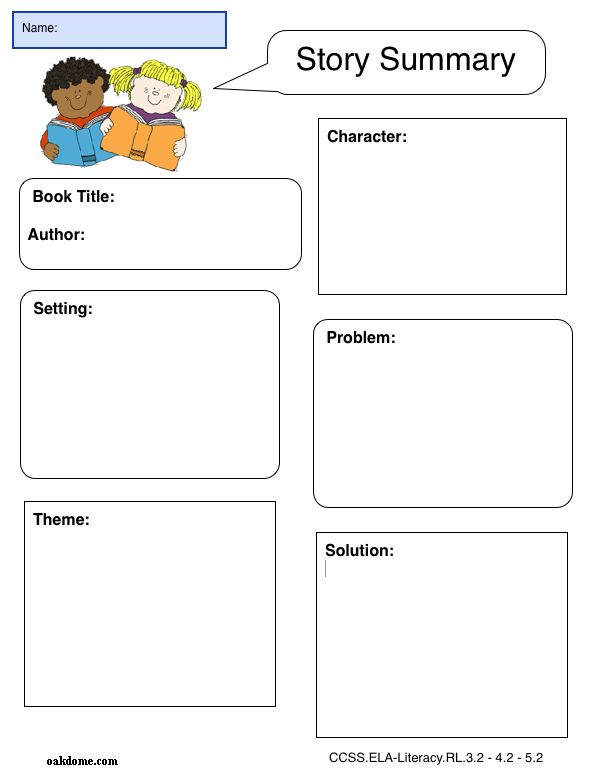 iPad Graphic Organizer - Story Summary - Plain  (iPad Pages Template): http://oakdome.com/k5/lesson-plans/iPad-lessons/ipad-common-core-graphic-organizer-story-summary.php
