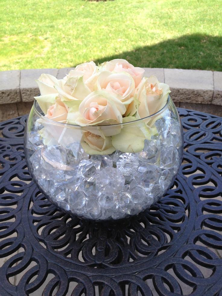 Outside bridal shower arrangement