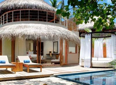 Beach Oasis is the best beach villa to stay in the W Retreat & Spa, Maldives.