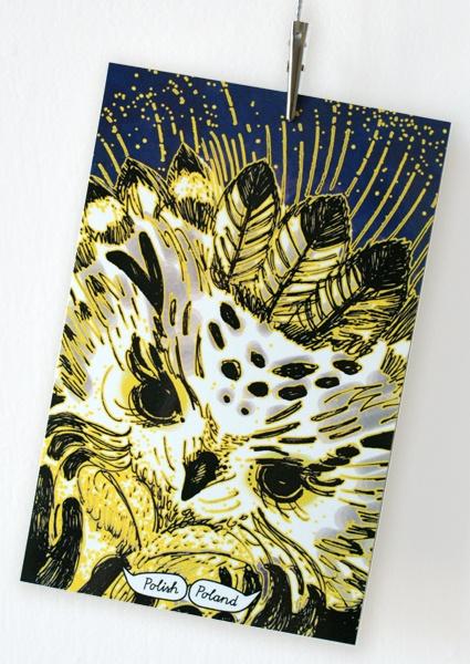 owl card www.polishpoland.eu $1.50