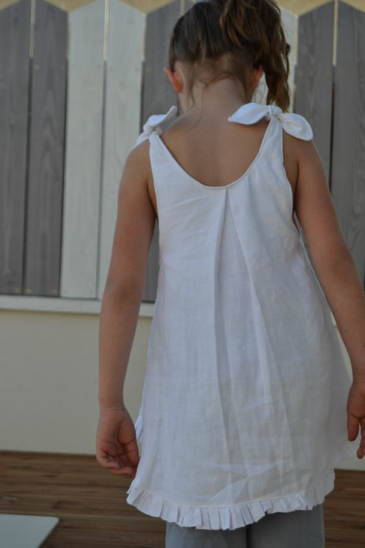 Tuto blouse asymétrique fille