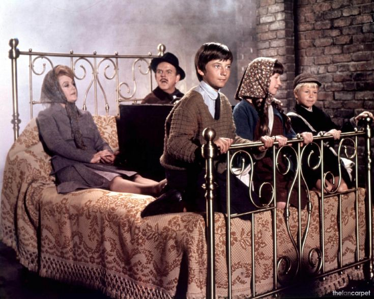 Bedknobs and Broomsticks we loved to pretend my bed was magic as a kid.