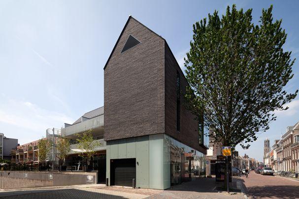 Zwarte Huis / Zwarte Huis ( Bakers architecten )Lange Nieuwstraat 109-113, Utrecht