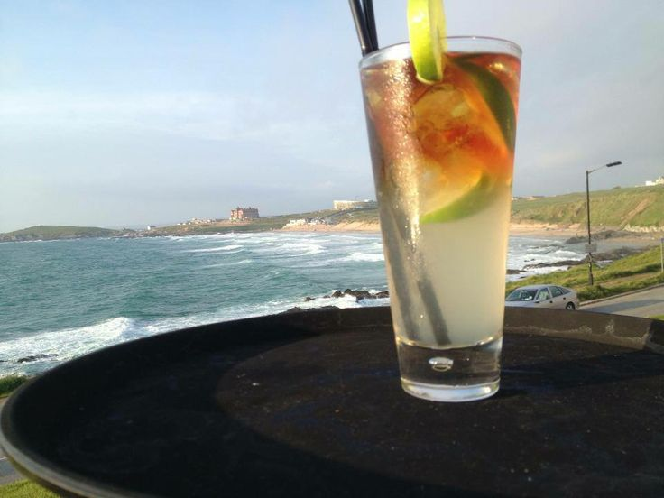 #throwbackthursday to last May, Cocktails overlook Fistral Beach again anyone? Bring on the summer! #newquay #checkinandchillout