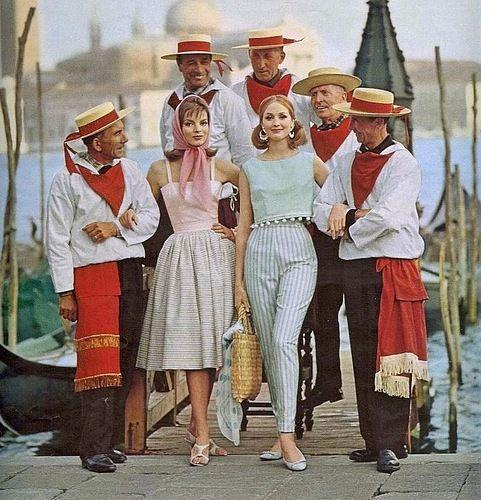 Seventeen magazine, 1962-Dress and pants are amazing!