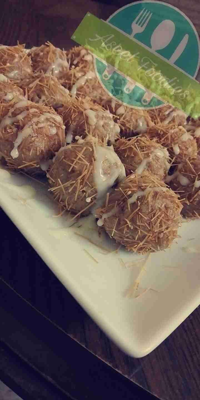كرات شعيرية الباكستانية زاكي Food Yummy Desserts